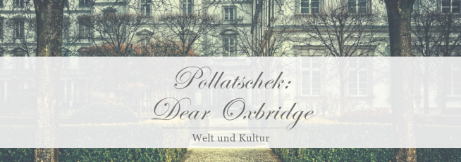 Nele Pollatschek: Dear Oxbridge [Rezension]