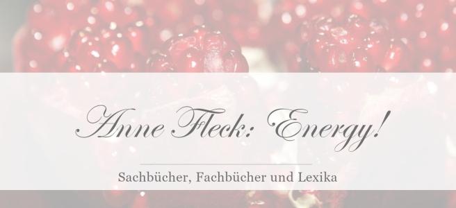 Anne Fleck: Energy! [Rezension]