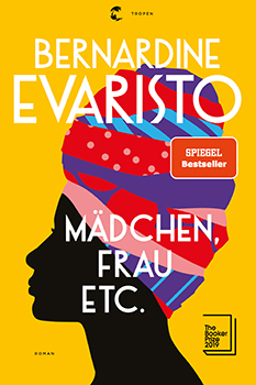 Bernardine Evaristo: Mädchen, Frau etc. [Cover]